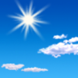 Sunday: Sunny, with a high near 83. Calm wind becoming southeast 5 to 7 mph in the afternoon.