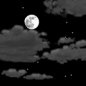 Monday Night: Partly cloudy, with a low around 71. Southwest wind 3 to 6 mph.