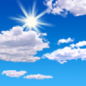 Today: Mostly sunny, with a high near 88. Southwest wind around 6 mph.